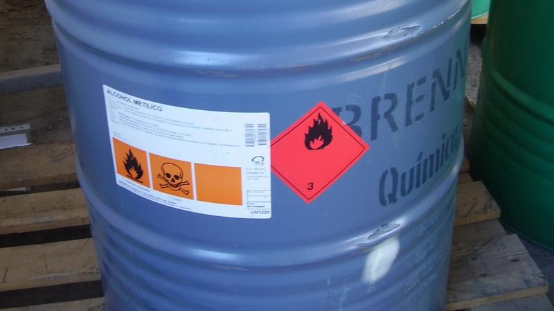 hoja de seguridad metanol: