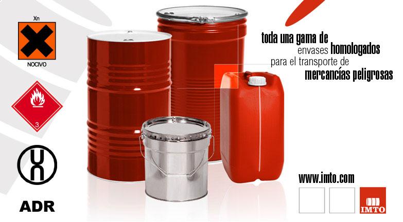 Envases homologados para combustible